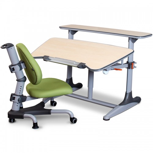Childrens Desk & Chair Set Green