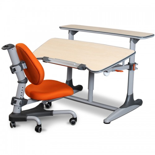 Childrens Desk & Chair Set Orange